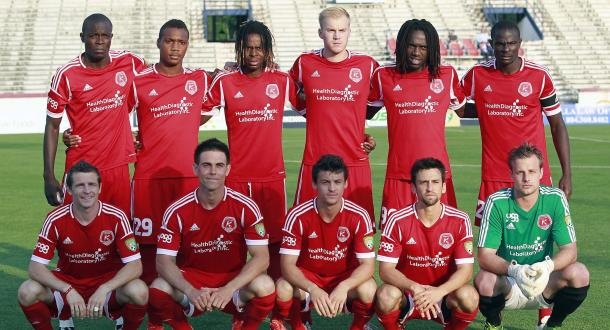 Richmond Kickers will be the Swans' other American opposition next month. (Photo: Soccerly)