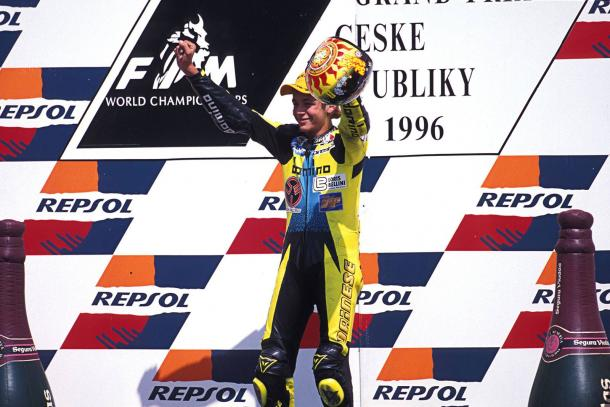Happy 20th Anniversary Rossi! 20 years since your first podium - www.facebook.com (Valentino Rossi)