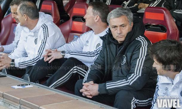 Mourinho en su segunda etapa en el Chelsea I Foto: Jaime del Campo