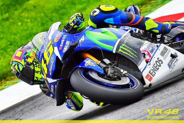Rossi at the Red Bull Ring - www.facebook.com (Valentino Rossi)