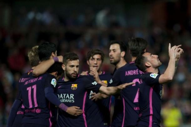 Liga - Tutto facile per il Barcellona: battuto 1-4 il Granada