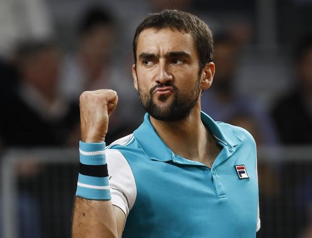 Marin Cilic put on a clinic this week, winning both of his singles rubbers in blowouts. Photo: Srdjan Stevanovic/Davis Cup