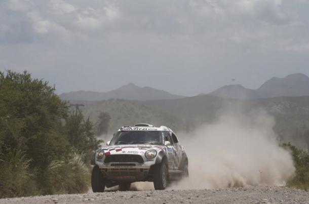 El finlandés durante la duodécima etapa I Foto: Dakar 2016