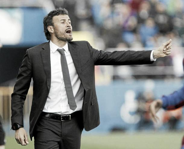 Luis Enrique praised youngster Roberts (photo source: marca.com)