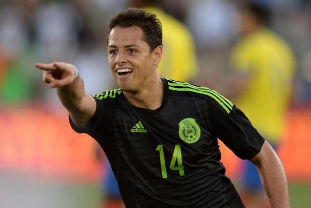 Javier Hernández will need to display his finishing abilities for El Tri on Friday. Photo provided by Getty Images.