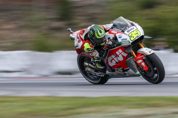 Crutchlow qualified tenth - www.facebook.com (Cal Crutchlow)