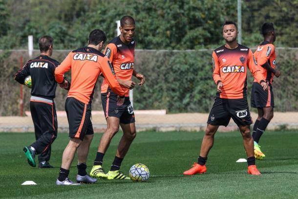Último treino do Galo, antes de viajar a Porto Alegre (Foto: Divulgação/Atlético Mineiro)