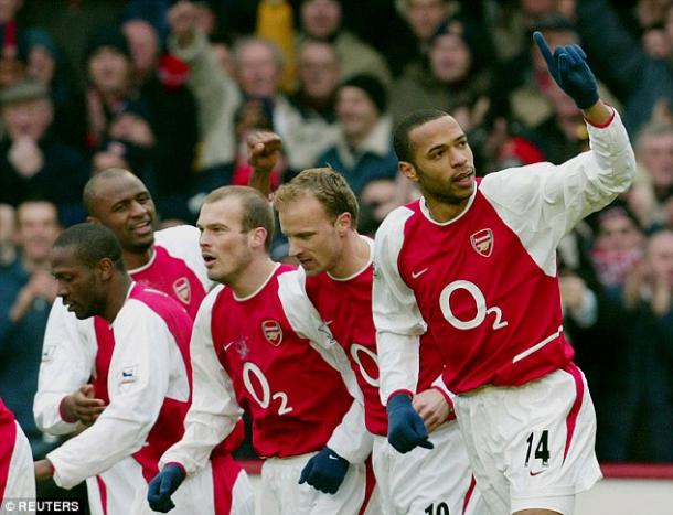 The last Arsenal side to win the Premier League. | Photo: Reuters