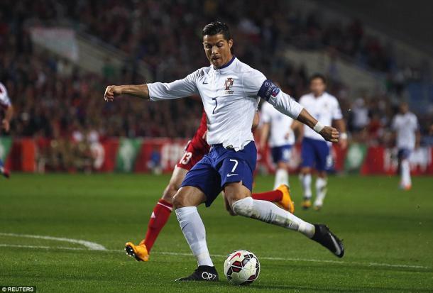 Contra a Armênia, CR7 fez três gols (Foto: Reuters)