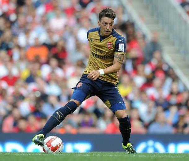 The German playmaker in action for Arsenal | Photo: AFC