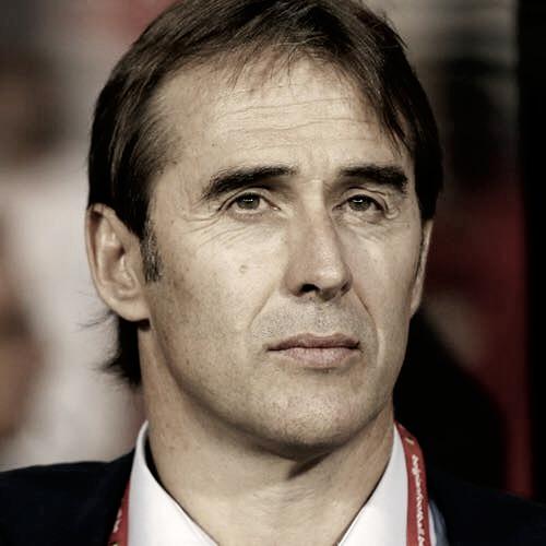 Julen Lopetegui quiere su primer triunfo como entrenador del Real Madrid   Foto: Facebook Julen Lopetegui