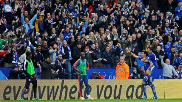 Delirio Leicester | Foto: premierleague.com