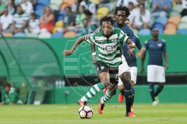 Gelson esteve em destaque na partida // Foto: Facebook do Sporting CP