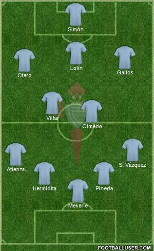 Alineación Celta-Deportivo (06/04/1952)