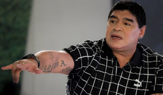 Diego Maradona has never been shy of his statements. Photo: AFP