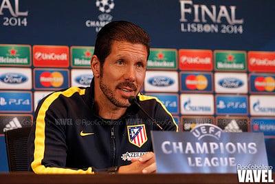 Diego Pablo Simeone de entrenador del Atlético de Madrid / Fuente: Flickr VAVEL España