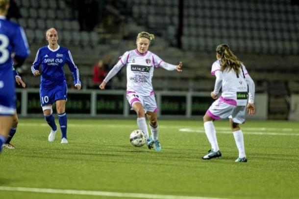 Schmidt made a total of 16 appearances for Rosengard in Europe. | Photo: Skånska Dagbladet