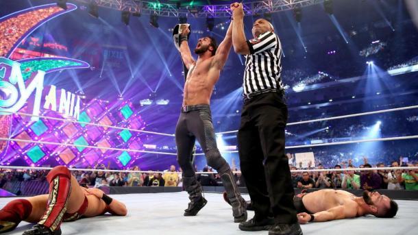 El Campeonato Intercontinental selló la hazaña de Rollins. Foto:wwe.com