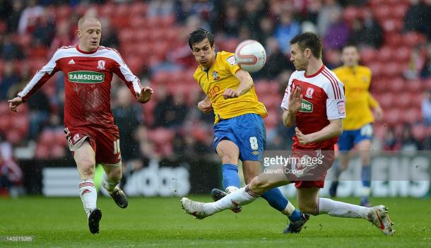 Middlesbrough - Southampton, marzo 2012. Ultimo precedente, in Championship. (Fonte immagine: Getty)