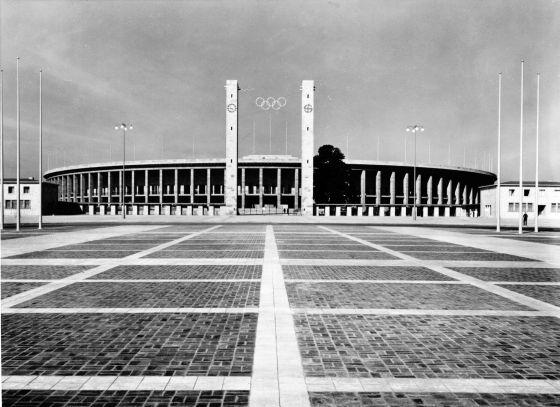 Olympiastadion em 1936/ Foto: Olympic/ Divulgação