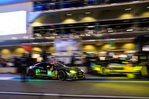 Aston Martin vence na GTE-PRO. (Foto: AMR)