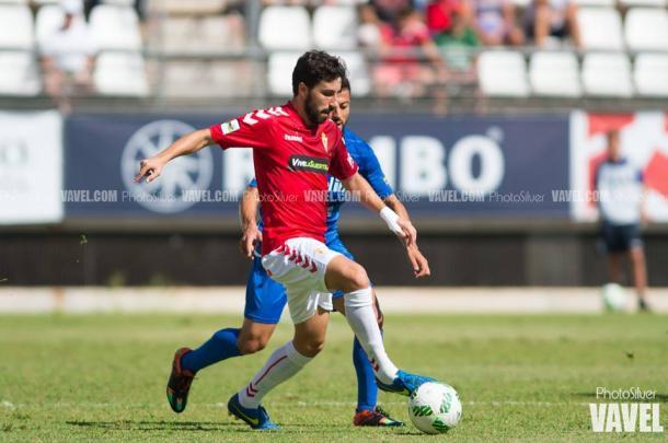 Diego Benito se perderá el choque tras ser sancionado con dos partidos.