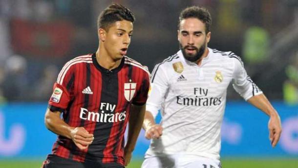 Mastour durante un amistoso contra el Real Madrid. / Foto: Gettyimages