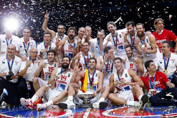 España gana el Eurobasket 2017 / feb.es