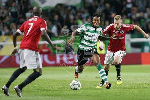 Gelson foi um dos jogadores em destaque // Foto: Facebook do Sporting CP