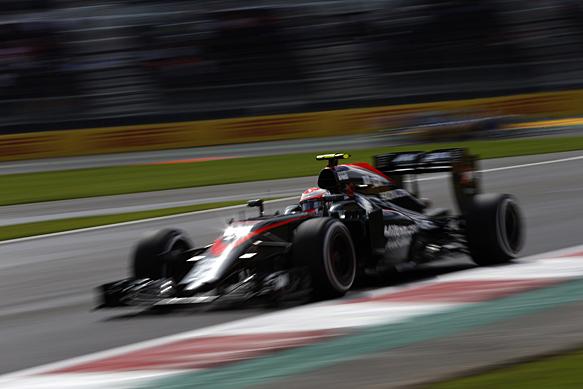 Jenson Button durante el Gran Premio de México   Fuente: autosport.com