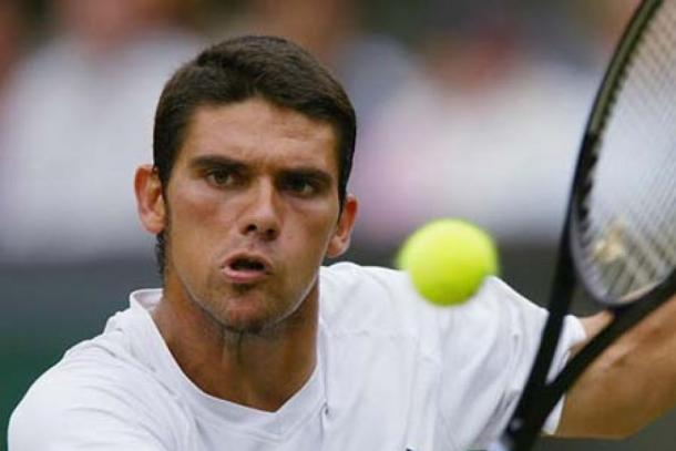 Philippoussis lost to Roger Federer in the 2003 Wimbledon final. Photo: Getty