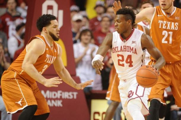 Could we see a rematch between Texas and Oklahoma in the Sweet 16? (Mark D. Smith/USA TODAY Sports)