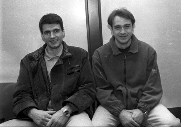 Velimir Perasovic y Pablo Laso, insignias y estrellas del Saski Baskonia | Fuente: Baskonistas.com