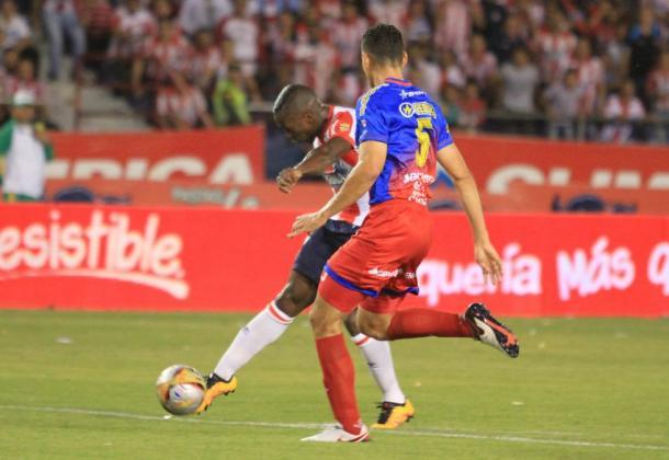 Atlético Junior vs Deportivo Pasto en 2016. Foto: Colprensa.
