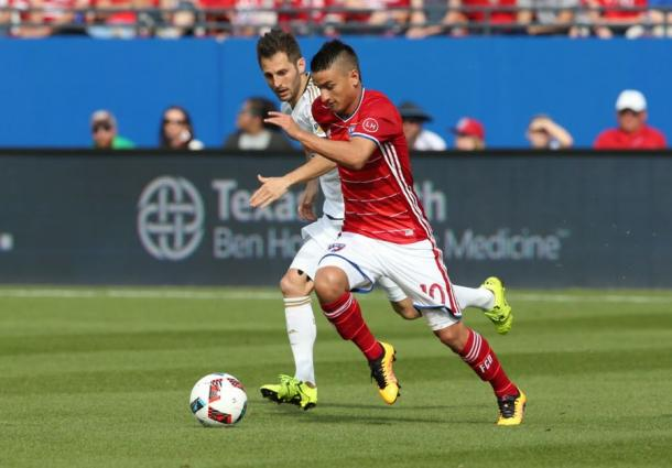 Will Mauro Díaz be ready for Saturday's home clash against San Jose. Photo provided by USA TODAY Sports.