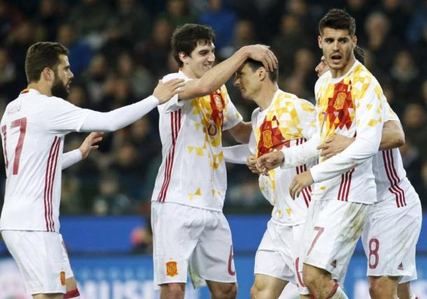 Spain will provide a stern test for Turkey on matchday two (Photo: Getty Images)