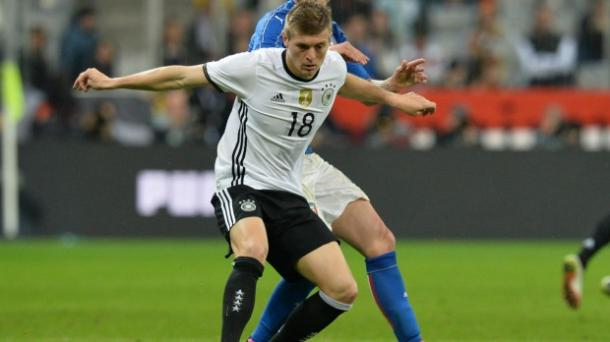 Kroos helped Germany cruise to victory against Slovakia | Image: Getty images