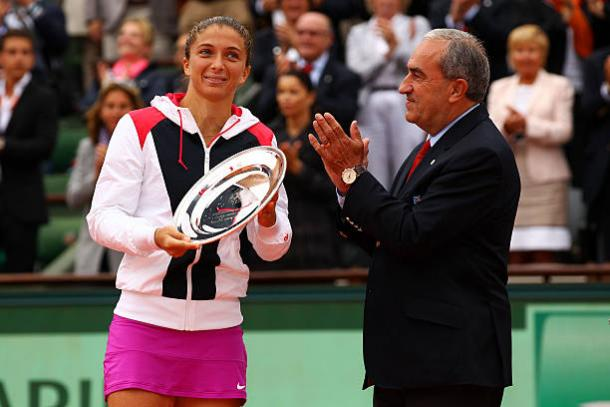 Sara Errani was the runner-up at the French Open five years ago (Getty/Clive Brunskill)
