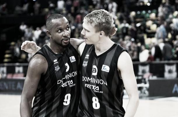 Dominion Bilbao Basket comenzó enchufado el partido / Foto: ACB