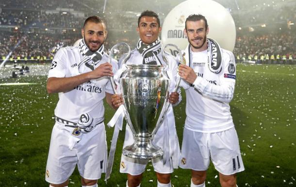 El Madrid celebra la Champions. || Imagen: La Liga