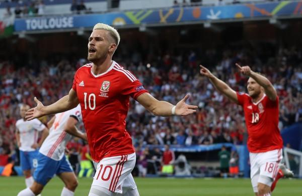 Ramsey inaugurou o marcador, atribuindo um novo rumo à partida