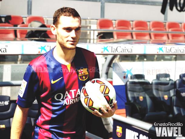 Thomas Vermaelen ha tenido pocas oportunidades desde su llegada a Can Barça. | Foto: Ernesto Ardilla, VAVEL