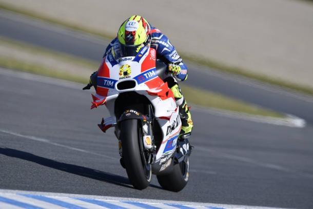 Hector Barbera Ducati debut - www.facebook.com (Ducati)