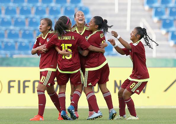 Venezuela celebra un gol | Foto: Getty Images