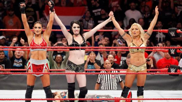 Sonya Deville, Paige y Mandy Rose: WWE.com
