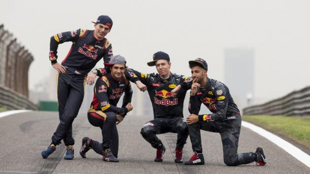 I quattro piloti in forza al team Red Bull (foto: da web)