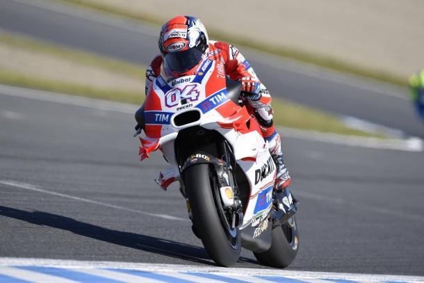 Dovizioso - www.facebook.com (Ducati)