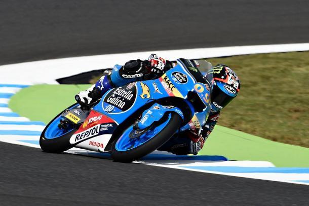 Jorge durante los libres del GP de Japón. Foto: Estrella Galicia 0,0.