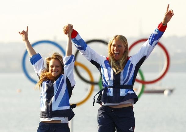 Mills and Clark are looking to replicate their silver medal success of 2012 (photo : Getty Images)