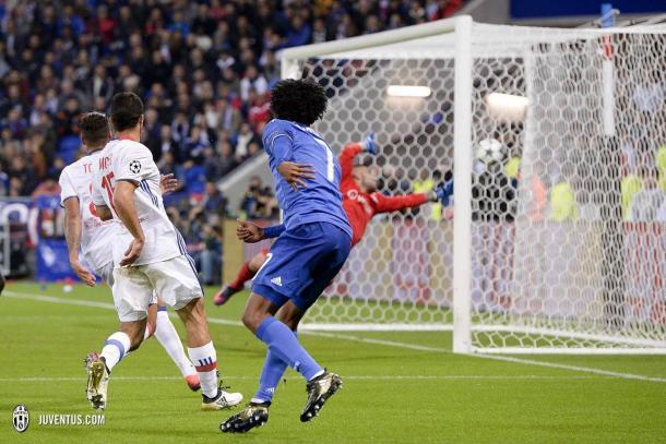 Il gol di Cuadrado.   Fonte immagine: juventus.com